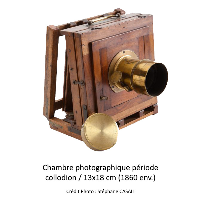 Chambre photographique période collodion